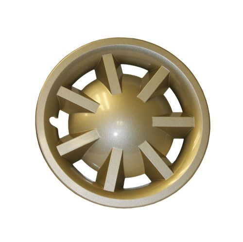 "8"" Metallic Gold Hubcap Assembly for RXV (No Logo) (OEM)"